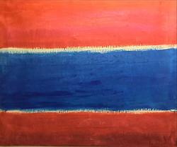 En rouge et bleu
