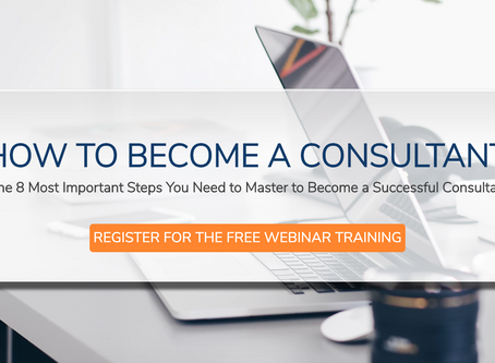 So You Want To Become A Consultant
