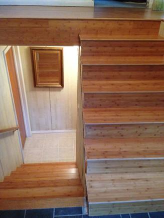 Bamboo Flooring - Before