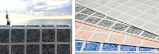 Nouvelle membrane armé en relief 3D - Renolit Alkorplan Ceramics