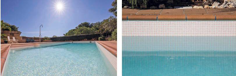 piscine avec membrane armée 3D