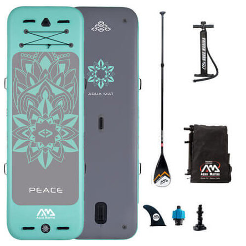 Peace - Paddle gonflable Yoga, 2.5m/15cm