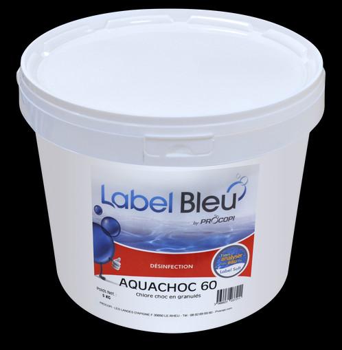 chlore choc stabilis granul s aquachoc 60 1 kg. Black Bedroom Furniture Sets. Home Design Ideas