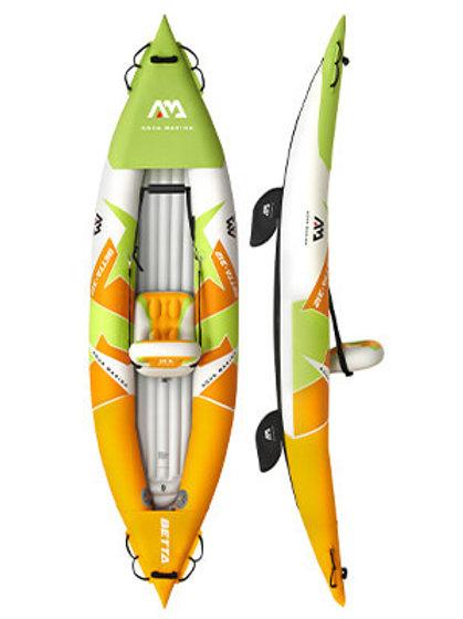 Betta - Kayak de loisir Plancher gonflable, pagaie incluse