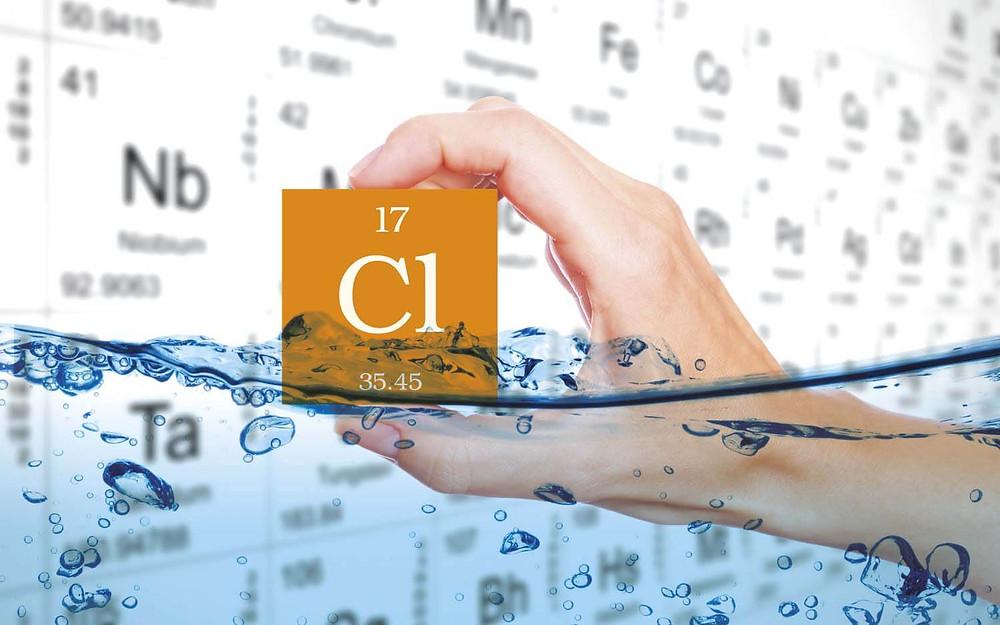 Cl - tableau périodique des éléments
