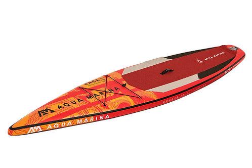 Race - Paddle gonflable de compétition, 3.81m/15cm, avec leash coiled