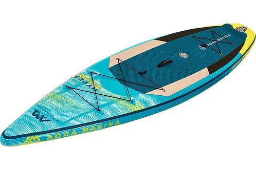 Hyper - Paddle gonflable rando,  3.5m/15cm, avec leash coiled
