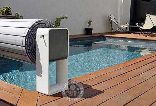 OCTÉO d'AstralPool, un pied design et connecté pour couverture hors-sol