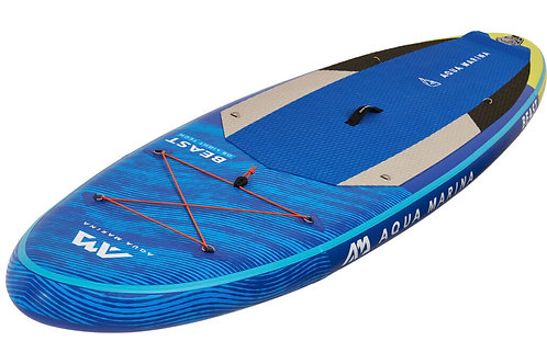 Beast - Paddle gonflable polyvalent avancé, 3.2m/15cm, avec pagaie et leash