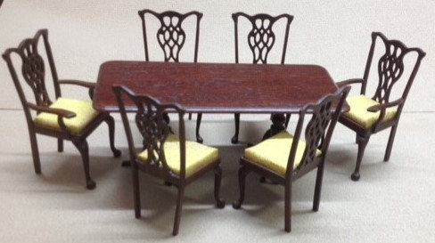 Six Place Dining Table