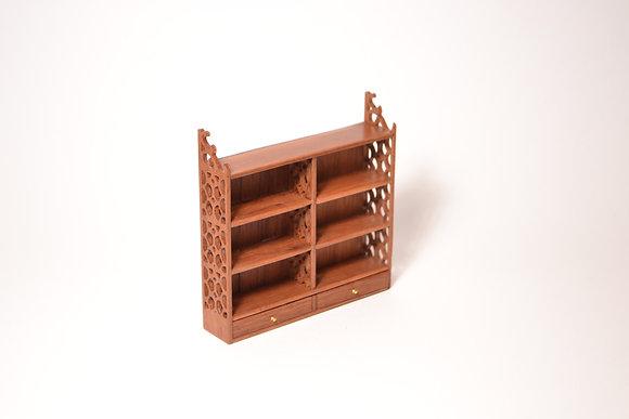 Chippendale shelf