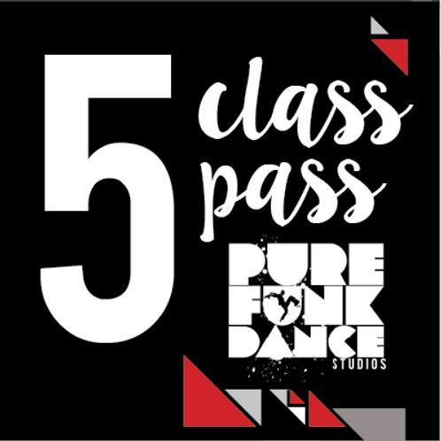 5 Class Pass (Mini Jams only)