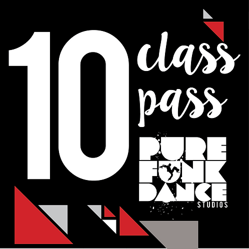 10 Class Pass (Mini Jams only)