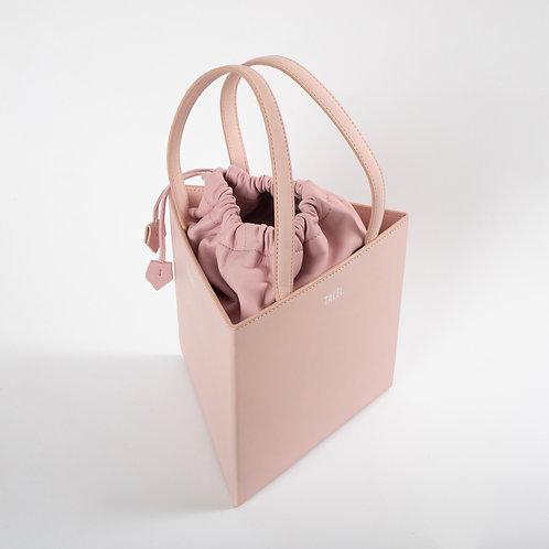 Large triangle bag light pink