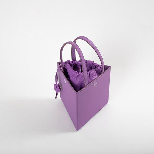 Medium triangle bag purple
