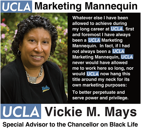 Vickie Mays: UCLA Special Advisor to the Chancellor on Black Life