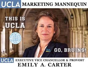 Emily A. Carter, UCLA Executive Vice Chancellor & Provost