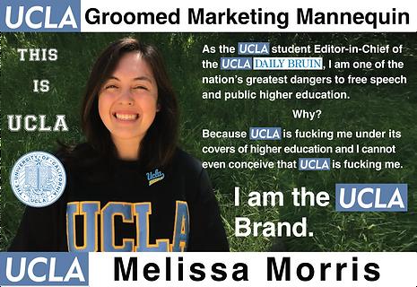 UCLA Daily Bruin, Editor in Chief: Melissa Morris