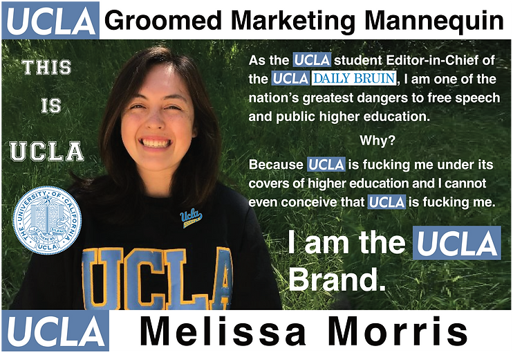 UCLA Daily Bruin, Editor in Chief: Melissa Morris