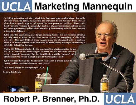 Robert Brenner, UCLA