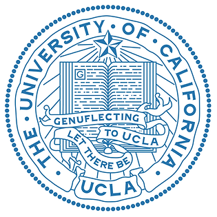 UCLA seal & motto: Let There Be Genuflecting to UCLA