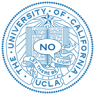 UCLA logo with motto