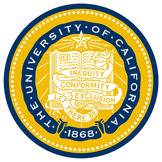 University of California seal & motto: Let There Be Inequity