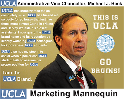 UCLA Administrative Vice Chancellor, Michael Beck