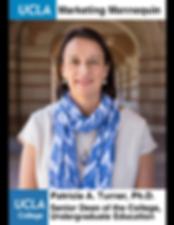 Patricia A. Turner, Ph.D., UCLA Senior Dean of College, Undergraduate Education
