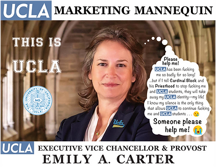 UCLA Executive Vice Chancellor & Provost, Emily Carter