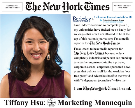 Tiffany Hsu, NYT media reporter; The New York Times