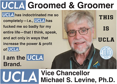 UCLA Vice Chancellor, Michael S. Levine, Ph.D.