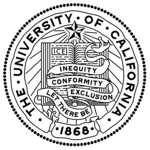 The University of California seal & motto: ICE