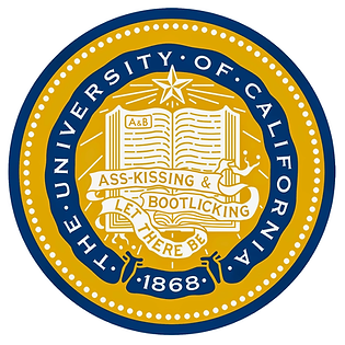 UC seal & motto: Let There Be Ass-kissing & Bootlicking