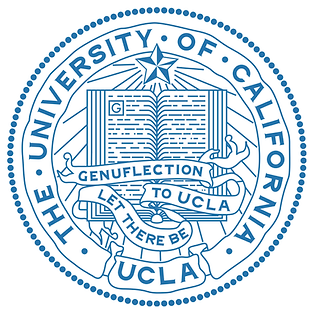 UCLA seal & motto: Let There Be Genuflection to UCLA