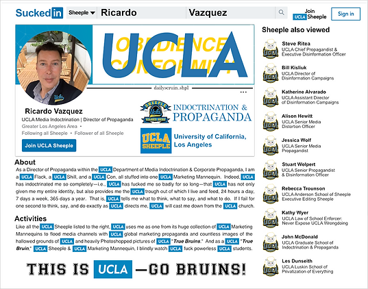 Ricardo Vazquez, Director of UCLA Media Relations