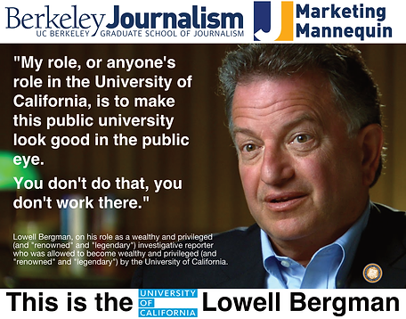 UC Berkeley Journalism, Lowell Bergman