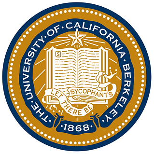 UC Berkeley seal & motto: Let There Be Sycophants