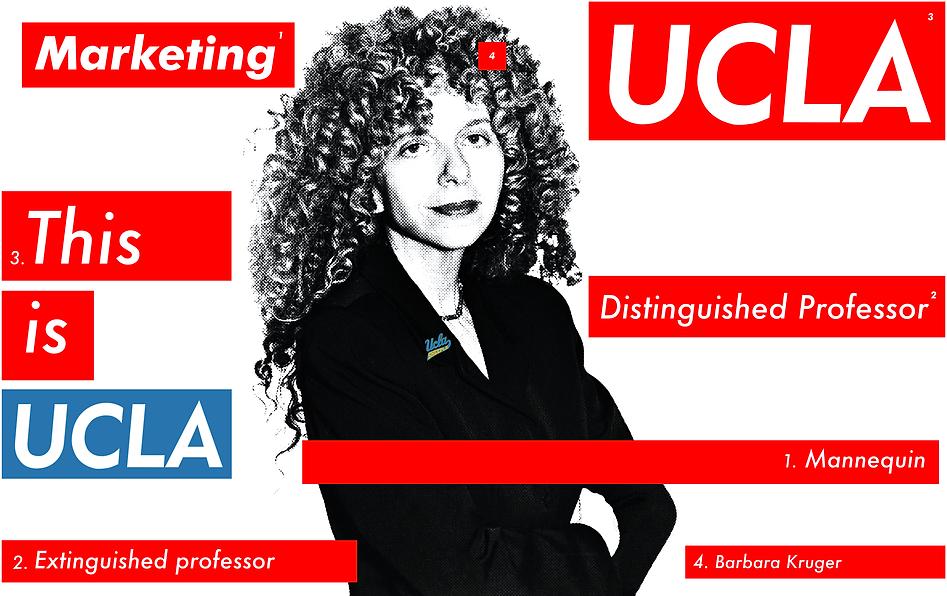 UCLA's Barbara Kruger
