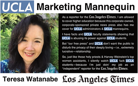 Teresa Watanabe, LATimes