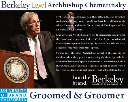 UC Berkeley Law Dean, Erwin Chemerinsky