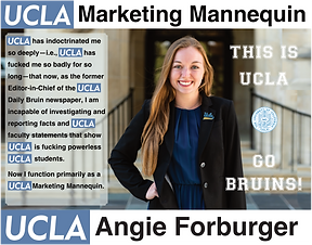 Angie Forburger UCLA | Former Editor-in-Chief of Daily Bruin
