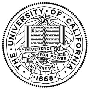 The University of California seal & motto: