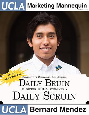 Bernard Mendez, UCLA Daily Bruin