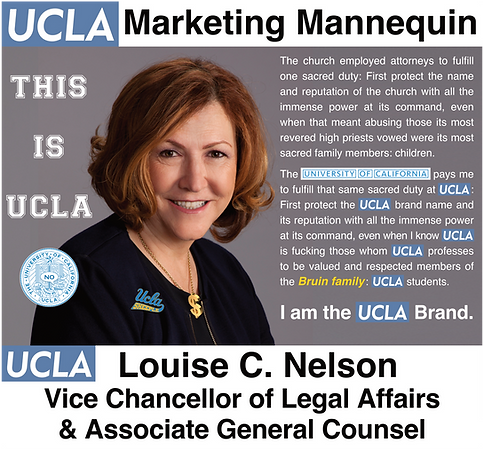 Louise Nelson: UCLA Vice Chancellor of Legal Affairs & Associate General Counsel
