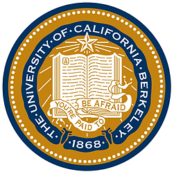 UC Berkeley logo: You're Paid To Be Afraid.png