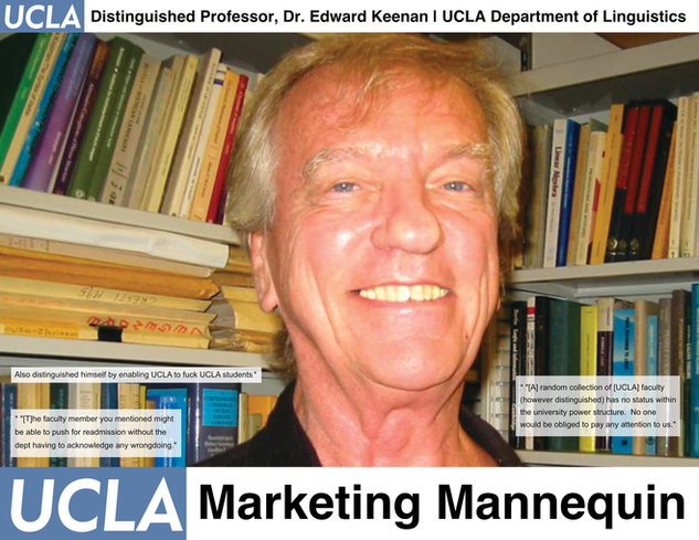 Edward Keenan, UCLA Linguistics Department
