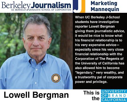 Lowell Bergman, UC Berkeley Graduate School of Journalism