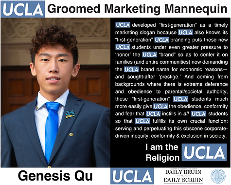 Genesis Qu UCLA (Daily Bruin Editor in Chief)