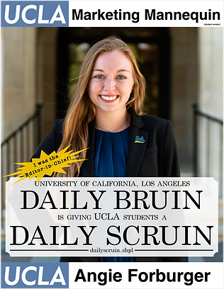 Angie Forburger, UCLA | Daily Bruin former Editor-in-Chief